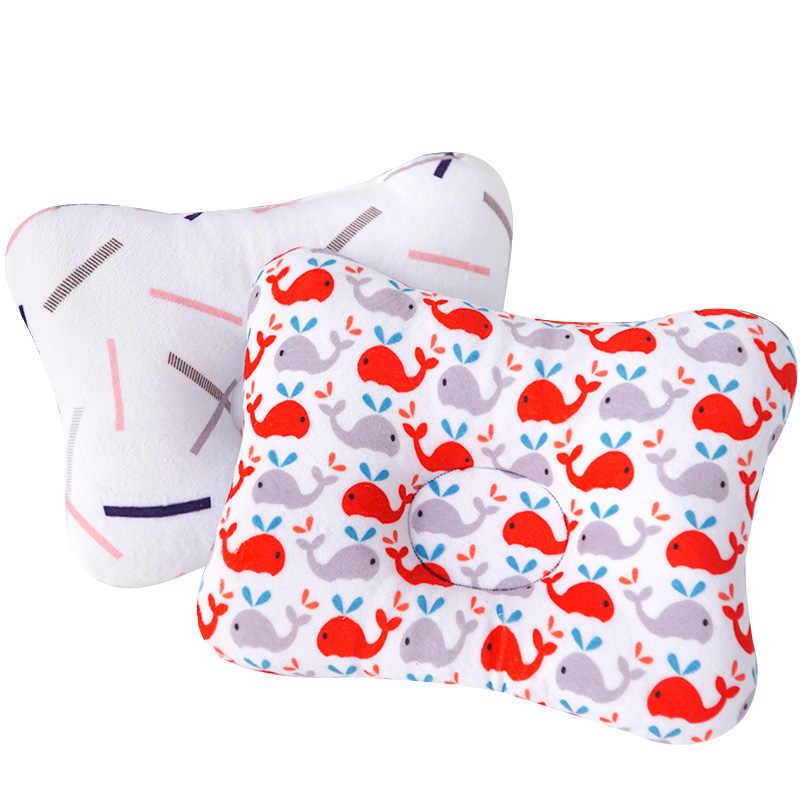 Muslinlife cabeza protección cojín almohada bebé recién nacido niños almohadas Animal impreso algodón niños almohada dormir posicionador Dropship