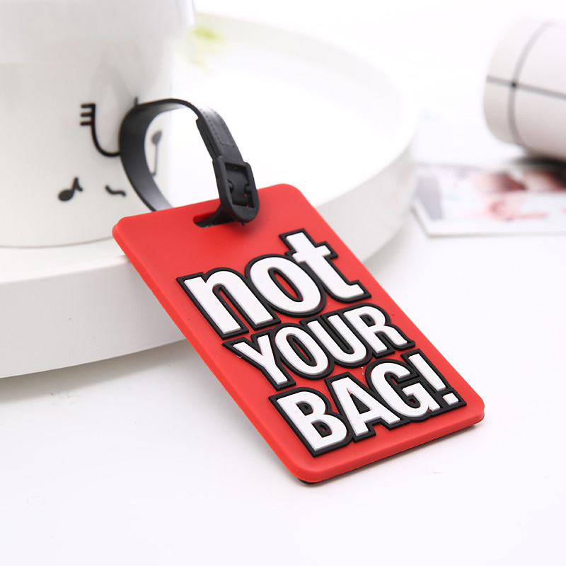 Letter Not Your Bag Suitcase Tags Travel Luggage Tag Identifier Label ID Address Holder Protection  Travel Accessories Hot Sale