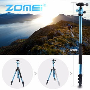 Image 5 - ZOMEI M3 Camera Tripod & Monopod Light Weight Travel Tripod with 360 Degree Ball Head and Carry Bag for SLR DSLR Digital Camera
