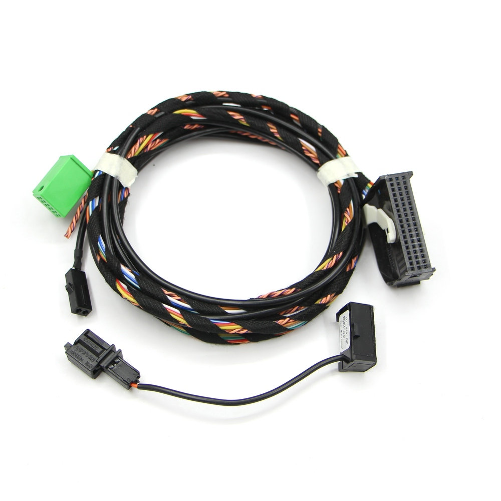 Online Shop For Vw Bluetooth Wiring Harness Cable 8x0035447a Rcd510 Jetta Apply To Tiguan Golf Gti Passat Cc With Microphone 8x0 035 447 A Aliexpress