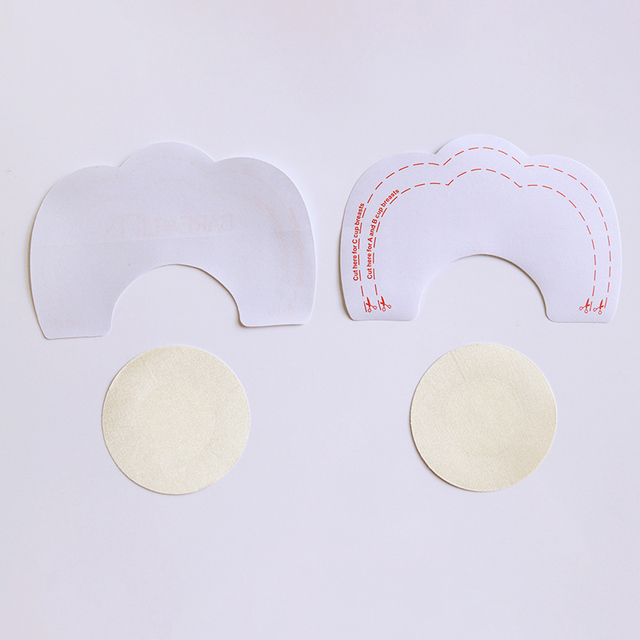 3 Style Invisible Strapless Backless Bra Pad Cleavage Enhance Stick Nipple Cover Disposable Breast Petals Lift 2