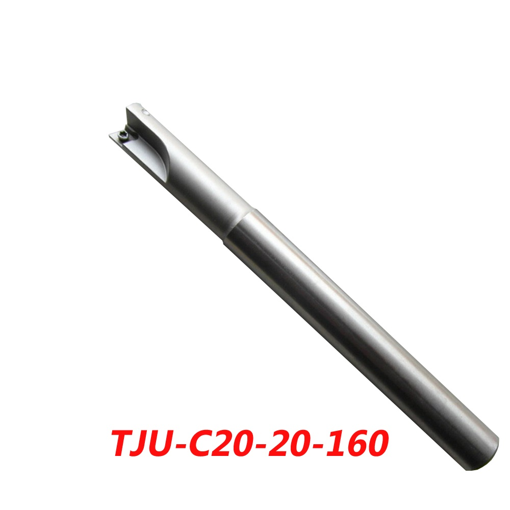 TJU-C20-20-160 Indexable Drilling And Milling Cutter Arbor For CCMT060204+CPMT090204Z Carbide Insert