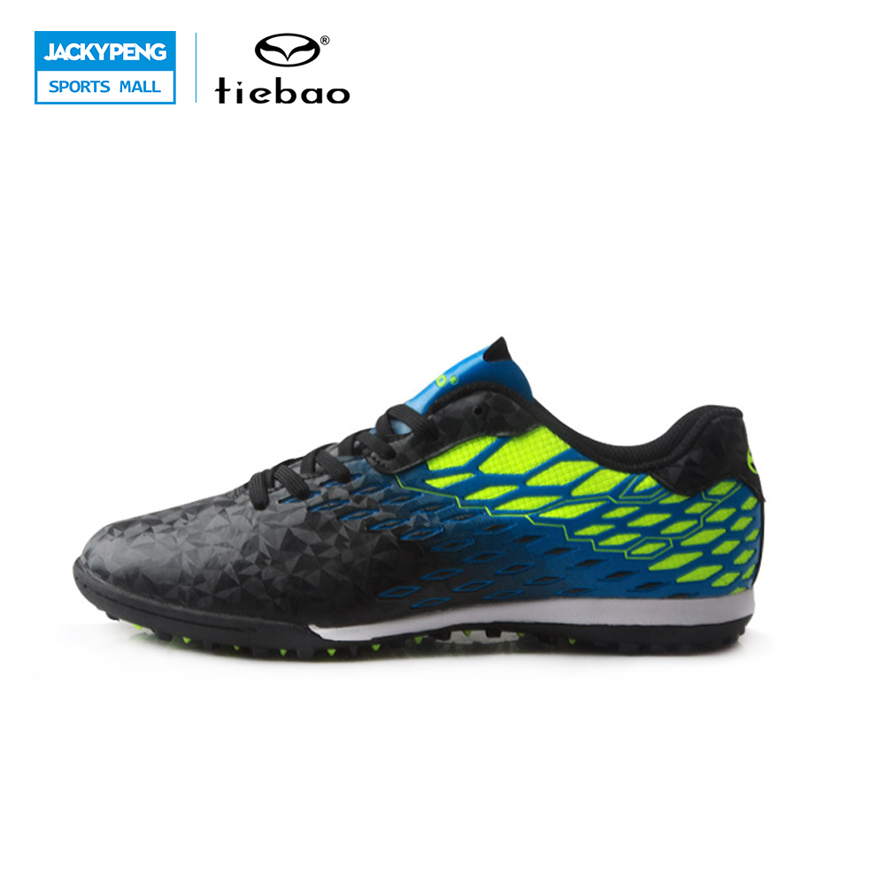 TIEBAO Footbal Shoes Men 2017 New Soccer Shoes TF Turf Sole Soccer Boots Football Shoes Adults Athletic Football Boots tiebao new men outdoor grass soccer shoes cleats for adults children sports football shoes brand football boots male size 35 44