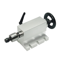 CNC Reitstock mit chuck für Drehachse 4th Achse 3D CNC Router