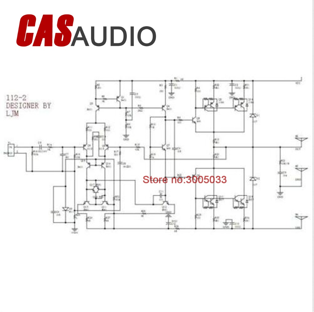 Mono L12 2 Power Amplifier Board Amp Assembled Ch 120w 55v W 23 Schematic Heatsink In From Consumer Electronics On Alibaba Group