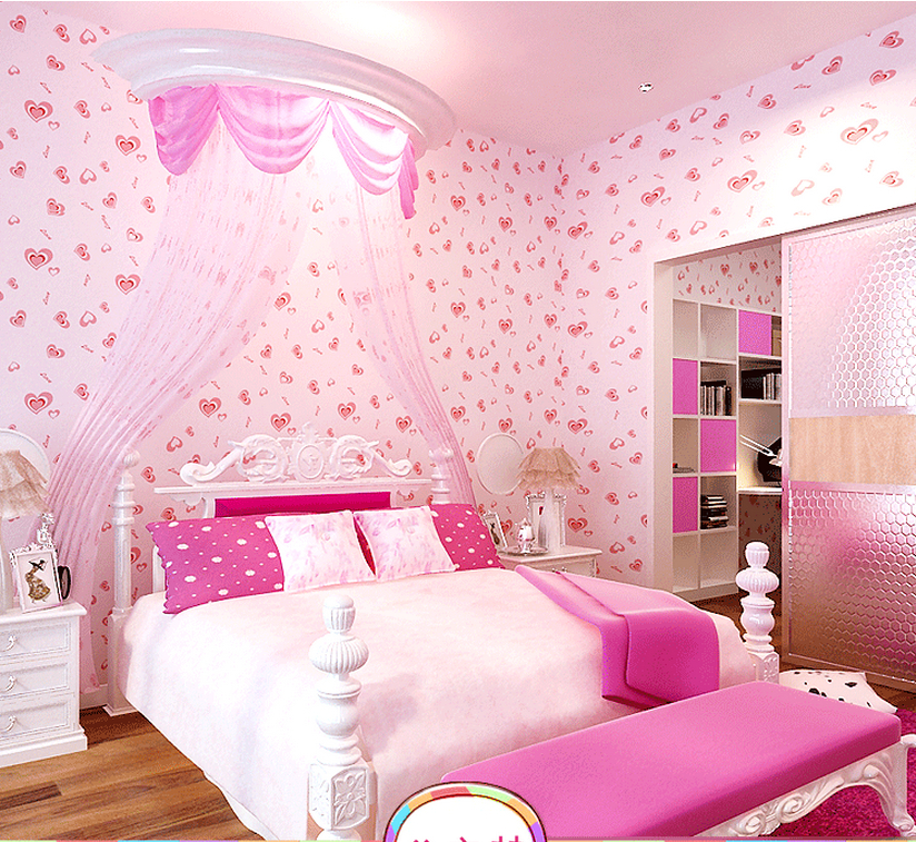 Compare Prices on Pink Heart Wallpaper Online Shopping