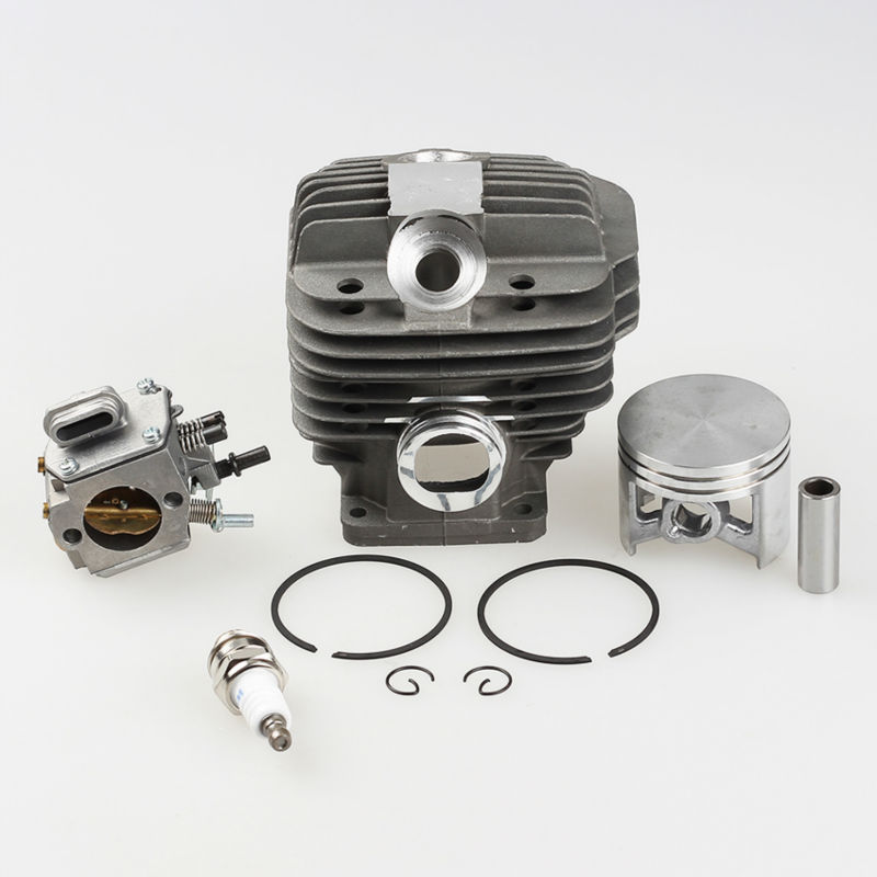 Cylinder Piston Kit +Carburetor Carb +Spark plug for Stihl 044 MS440 MS 440 Chainsaw Parts * 1128-020-1201 new best price 38mm cylinder piston kits with spark plug oil pump for stihl calm ms180 018 chainsaw parts