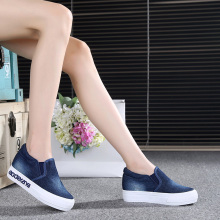 Free shipping within the higher spring new cowboy canvas shoes fashion shoes casual shoes a pedal