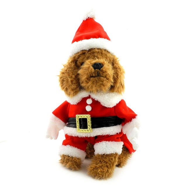Dog Christmas Clothes Dog Santa Costume with Hat Fancy Dress Cosplay Costume Small Dog Clothes for  sc 1 st  AliExpress.com & Dog Christmas Clothes Dog Santa Costume with Hat Fancy Dress Cosplay ...