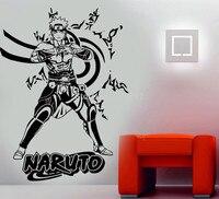 Poster Naruto Anime Manga Wall Art Decal Hoge Kwaliteit Vinyl Muurstickers Voor Kinderkamer Jongen Slaapkamer Nursery Home Decor