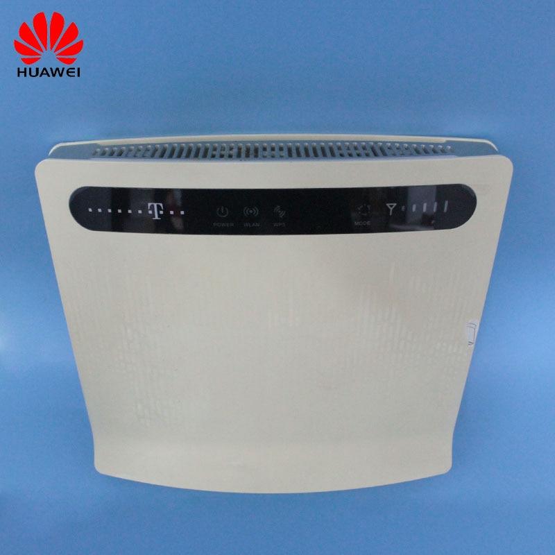 Débloqué utilisé Huawei B593 B593s-12 B593u-12 avec antenne et 4G LTE routeur 4G routeur 4G LTE WiFi routeur PKB310 B315s-22