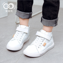2018 Autumn Children Fashion Shoe Baby Boy Brand Sport High Cylinder Skate  shoes Girl Toddler Casual 533d29d9152f