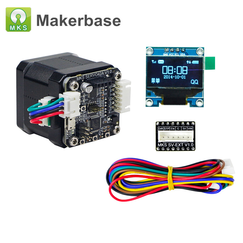 3D Printer Parts Open Source Closed Loop Stepper Motor NEMA17 MKS SERVO42 Prevents losing steps for