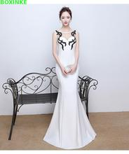 2019 Vestido De Festa Solid Sequined Plus Size Long Dress The New Women's Sexy Slim Toastmaster Spring Night For Manager Halter carre j the night manager
