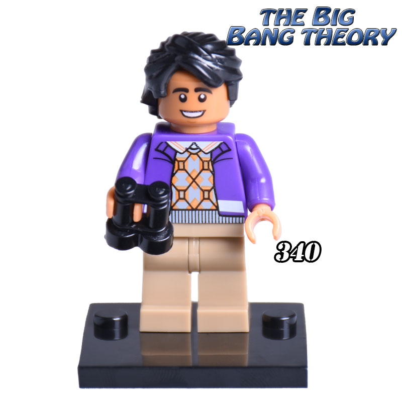 1PC New Rajesh diy figures TV TBBT The Big Bang Theory
