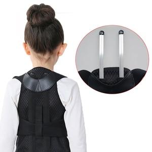Image 5 - JORZILANO Profesyonel Çocuk Ayarlanabilir Arka Göğüs destek kemeri duruş düzeltici Terapi omuzluk Düzeltme kambur