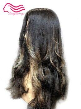 Tsingtaowigs 26 pulgadas ya capa color #8/2 virginal europeo pelucas kosher cabello peluca judía mejor Sheitels envío gratis