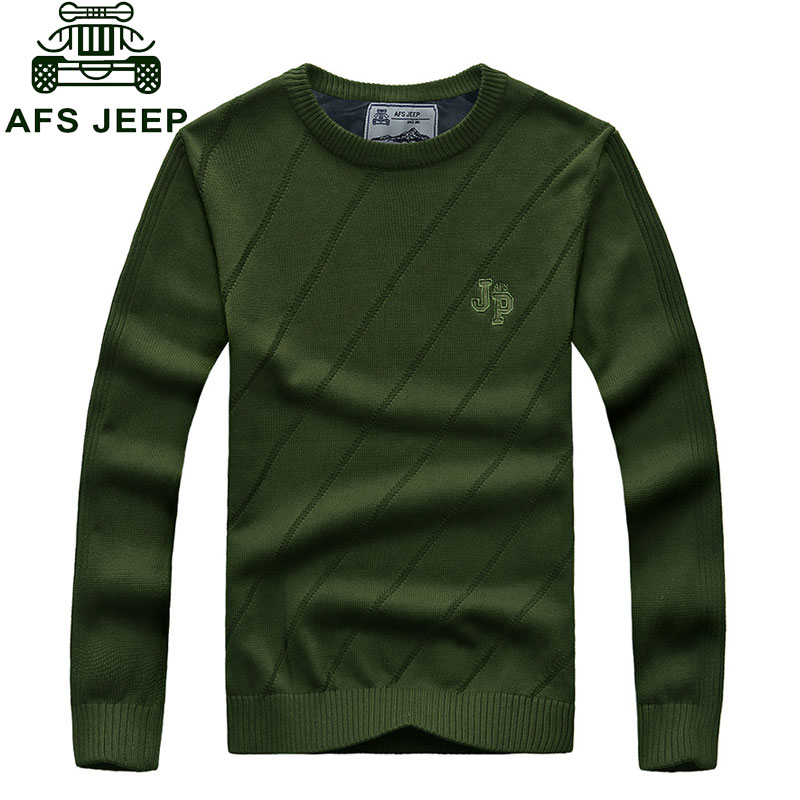 CLOTHES Autumn Casual font b Men s b font Pullovers font b Sweater b font Knitted