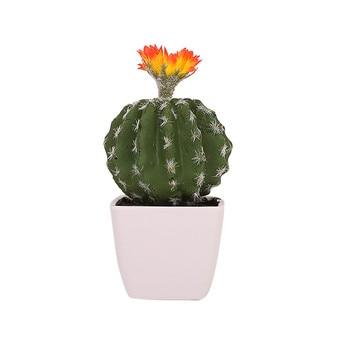 687c6586c 1 piezas Real touch mini palm bonsai artificial carnosidad Cactus  decorativo reina flor para la decoración de la Mesa de plantas suculentas  plantas