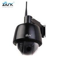ZILNK Full HD 1080 P Câmera IP Speed Dome PTZ Ao Ar Livre 2.8-12mm Auto-Foco Com Zoom de 5x IP66 À Prova D' Água Onvif H.264 Wi-fi Sem Fio