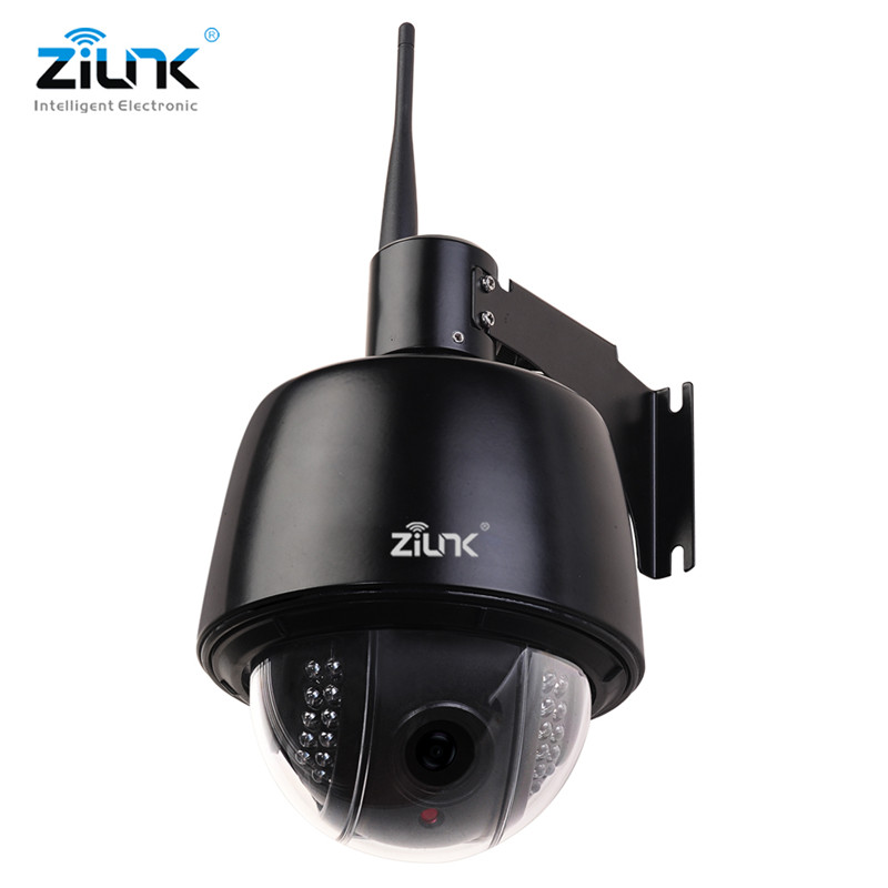 ZILNK Full HD 1080 P Velocità Dome IP Camera Outdoor PTZ 2.7-13.5mm Auto-Messa A Fuoco 5x Zoom IP66 Impermeabile H.264 Onvif Wifi Senza Fili