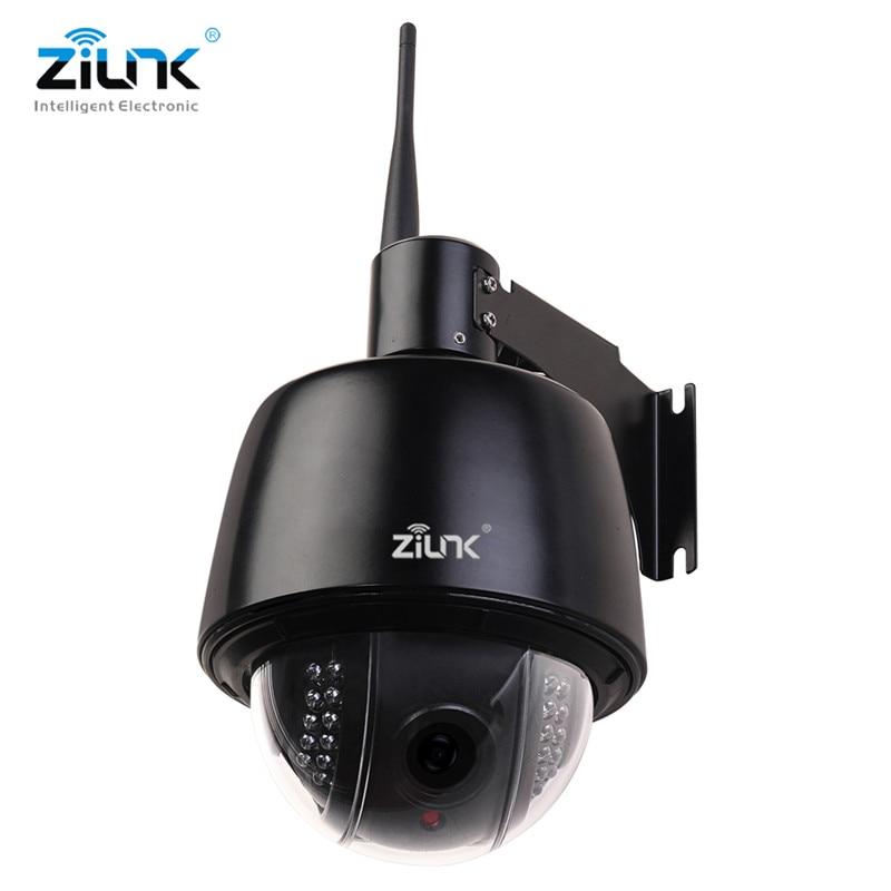 ZILNK Full HD 1080P Speed Dome IP Camera Outdoor PTZ 2.7 13.5mm Auto Focus 5x Zoom IP66 Waterproof Onvif H.264 Wifi Wireless