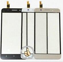 Черный Белый Передняя Стеклянная Линза + Сенсорный Экран Digitizer Для Huawei Honor Play 4X Замена для Мобильного Телефона ЖК-Экран случае