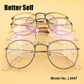 L3447 Metal Eyewear Design Spectacles Teenager Eyeglasses Optical Frames Retro Round Glasses
