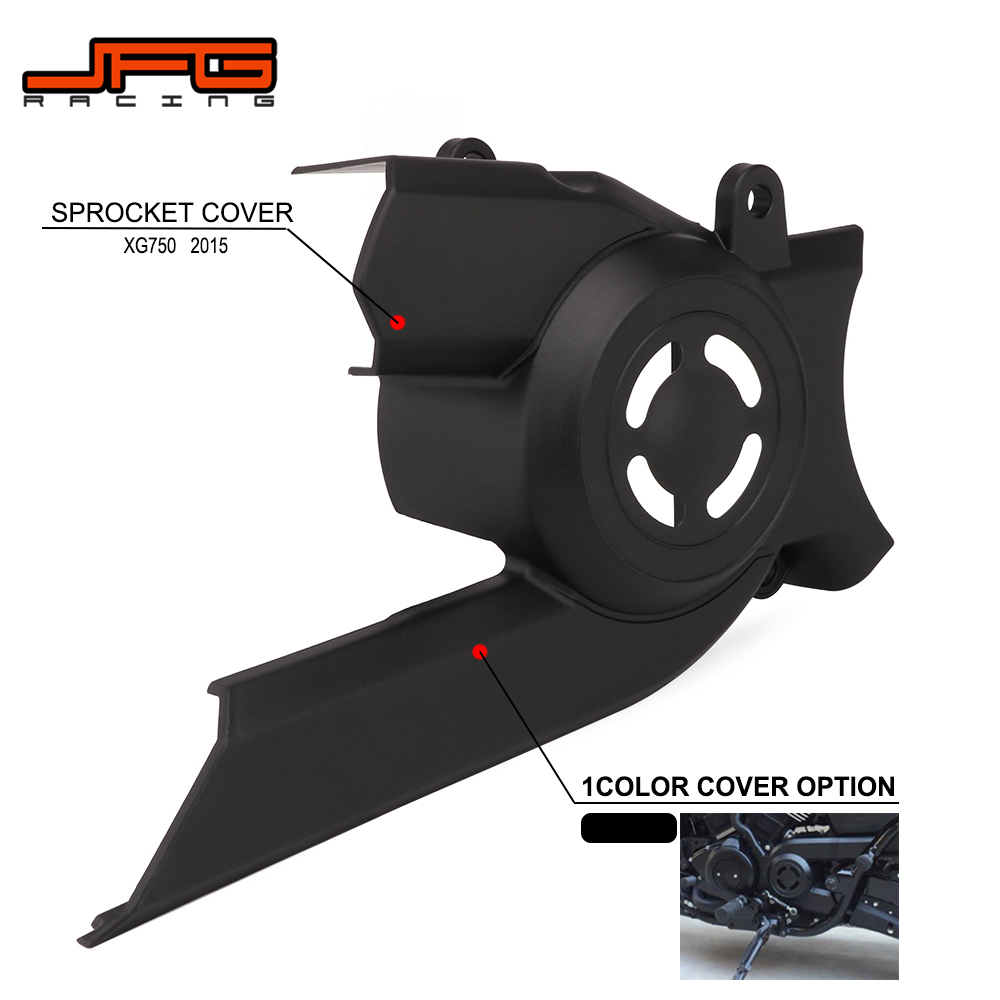 Motorcycle Plastic Front Pulley Sprocket Cover Chain Guard Protector For Harley Davidson Street XG750 2015 Street BikeMotorcycle Plastic Front Pulley Sprocket Cover Chain Guard Protector For Harley Davidson Street XG750 2015 Street Bike