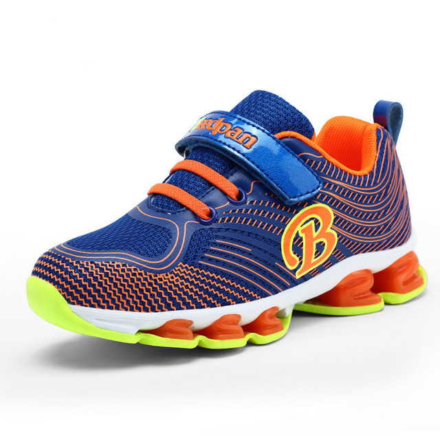 New Arrival Kids Sneakers Sport Running Shoes Boys Girls Spring Chlidren  Sport Breathable Air Mesh China