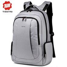 2017 Tigernu Unisex Women Backpack Bag for 14 15.6  Laptop Bag Quality Brand Waterproof Nylon Men's Backpacks Mochila Feminina