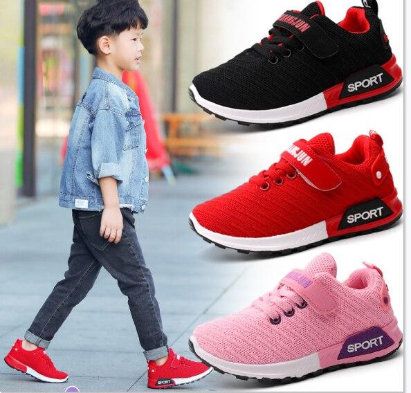 Spring Children Sport Shoes Boys Girls