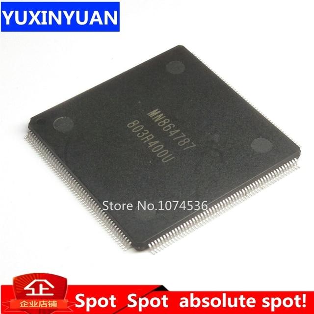 MN864787 864787 QFP tqfp LCD رقاقة 1 قطعة