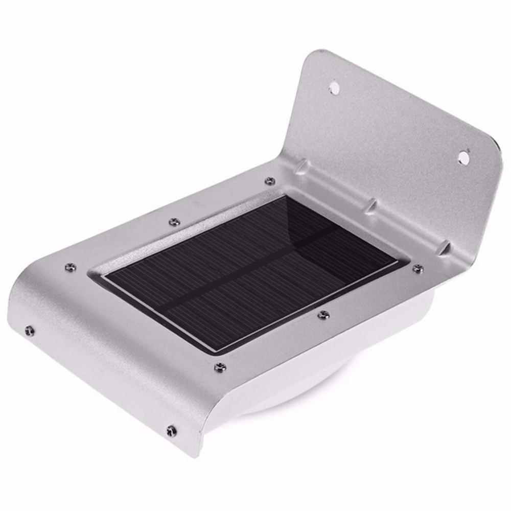 4 pçs 3528 16 led energia solar