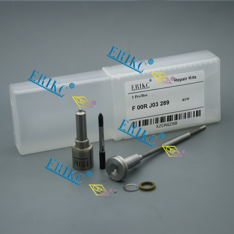 ERIKC injector nozzle overhaul kits F 00R J03 289 (F00RJ03289) nozzle kits F00R J03 289 for 04451202150445120394