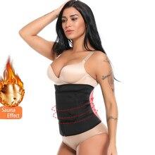 Miss Moly Thermo Waist Trainer Sweat Modeling Belt Corrective Body Shaper Tummy Slimming Reducing Shapewear Corset Plus Size