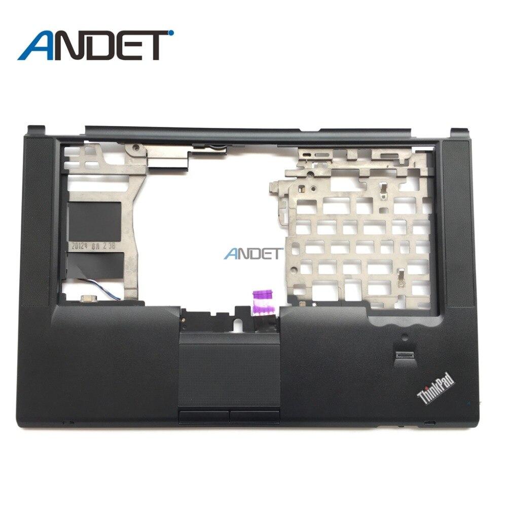 New Oirginal for Lenovo ThinkPad T420S T420Si Palmrest Keyboard Bezel Cover Upper Case Touchpad Fingerprint 04W0607