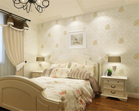 Beibehang Papel De Parede Wall Paper Stereo Fashion Aesthetic Relief Wallpaper Pastoral Nonwovens Warm And Romantic