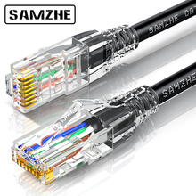 SAMZHE Cat 6 Ethernet Cable wire RJ45 Standard Patch Cable Twisted Pairs Internet Project Engineering wire for Home TV Computer