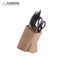 Gohide N5497 Combination 6pcs/Sets Cutting Tools Kitchen Knife Set In High Quality Stainless Steel Cookware Knives
