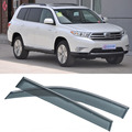 4pcs Blade Side Windows Deflectors Door Sun Visor Shield For Toyota Highlander