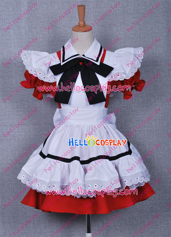 Kawaii Red Lolita Dress H008