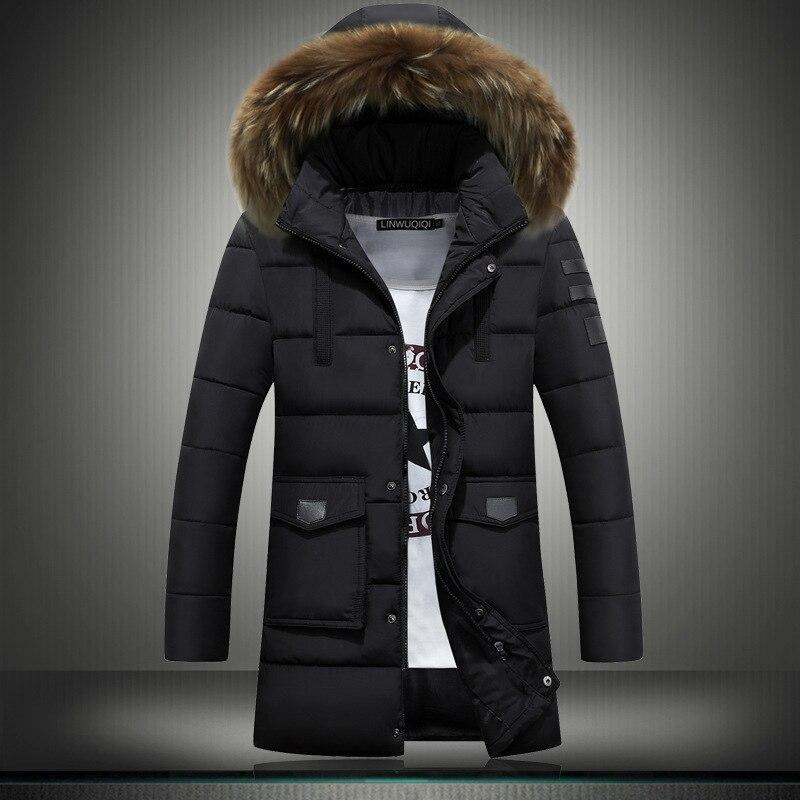 2018 Hot Men   Down     Coat   with Hood   Coat   Men Winter Jacket Men's Male Duck   Down   Jacket   Coat     Down  -jacket   Coats   Style Design