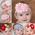 Baby Girls Toddlers Newborn Photography Props Kids Infant Flower Bebe Christmas Headband Hairband Headbands Hair Accessories Bow