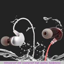 qijiagu 10PCS 3.5mm Universal Earphones with Mic  Earhook Sport Earphone Headphones Phone