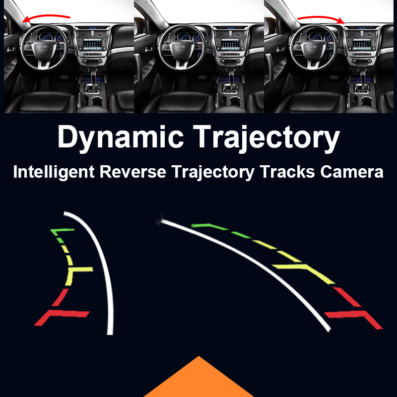 Dynamic Track Rear View Camera For BMW 3 Series 5 Series BMW E39 E46 Backup Night Vision Vehicle Camera Parking Assistance 1