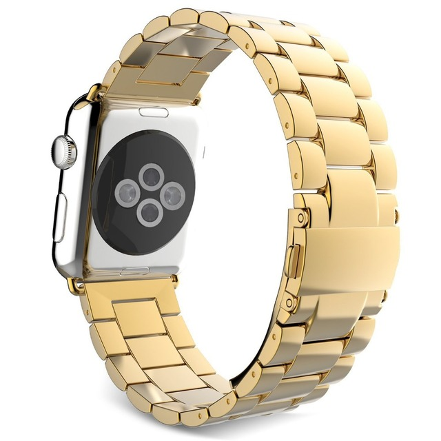 "38MM  Metal Stainless Steel smart watch watchband applicable Apple Watch Sport, Apple Watch Edition fit 100mm-205mm(3.93""-8.07"")"