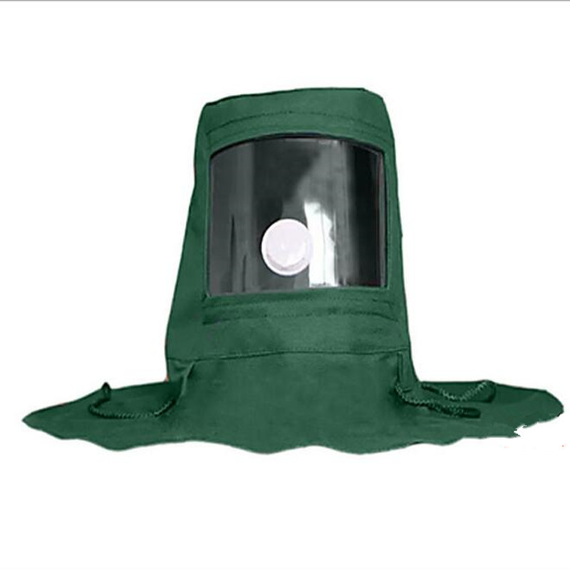 protection of dust masks dust hood for sandblasting caps Industrial grinding labor insurance customer buying behavior of insurance policy