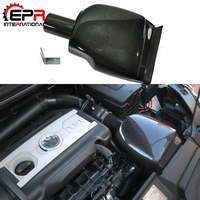For VW Golf 6 GTI APR Tuning Carbon Fiber Cold Air Intake 1.8T/2.0T Front Airbox Scirocco 2.0 (fit for Seat Leon, Passat, VW CC)
