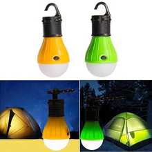 Outdoor Hiking Camping Lamp Portable Torch Hanging LED 3 Mode led the field of soft lights Bulb Adjustable Camping Tent Light